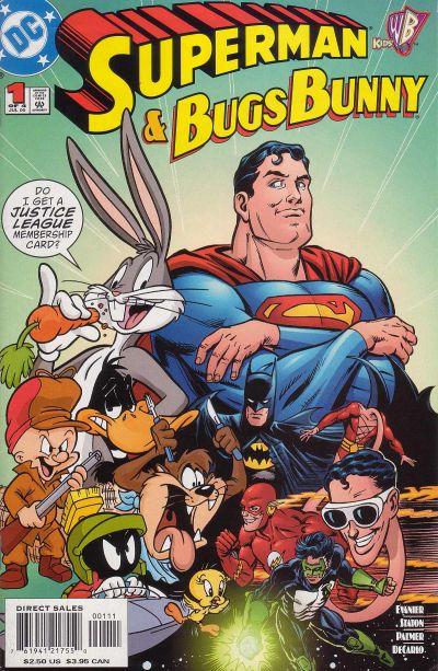 супермен бэтмен комиксы тест отвратительные мужики луни тьюнс