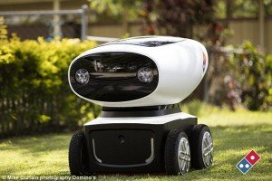 робот-курьер domino's pizza robot delivery отвратительные мужики пицца disgusting men