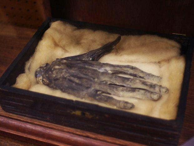 рука славы отвратительные мужики артефакт hand of glory disgusting men