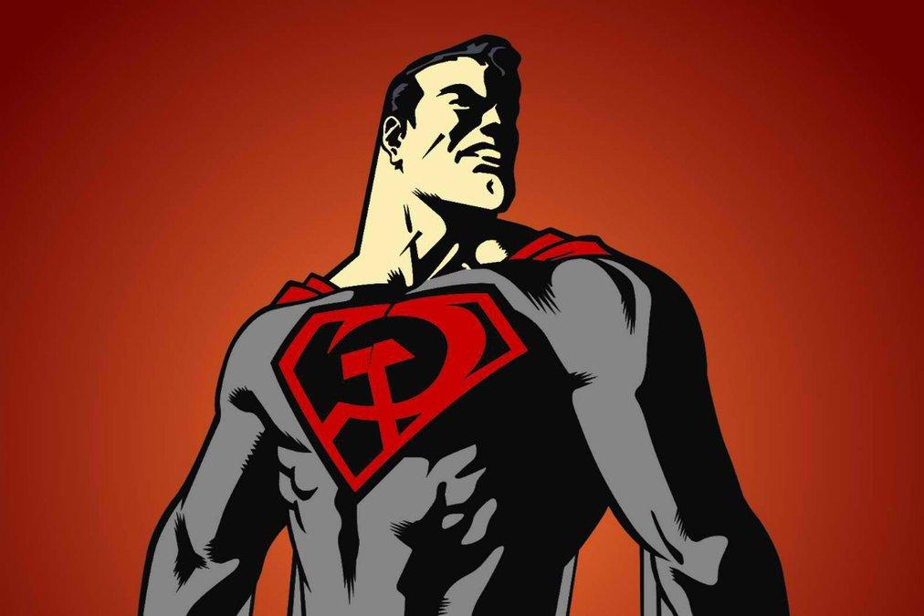 супермен бэтмен тест комиксы отвратительные мужики красный сын