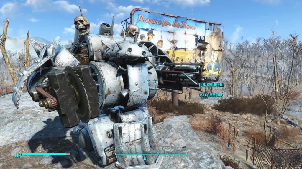 Fallout 4 новое тело для ады - 0cda