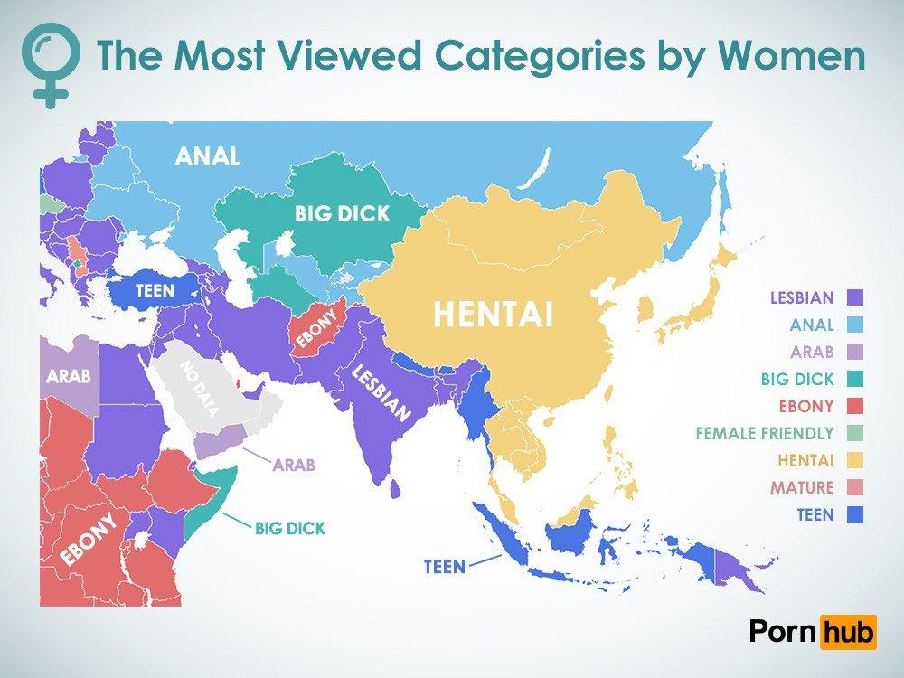 Pornhub порносайт предпочтения девушек россиянки украинки казашки статистика инфографика анал большой член порно новости отвратительные мужики