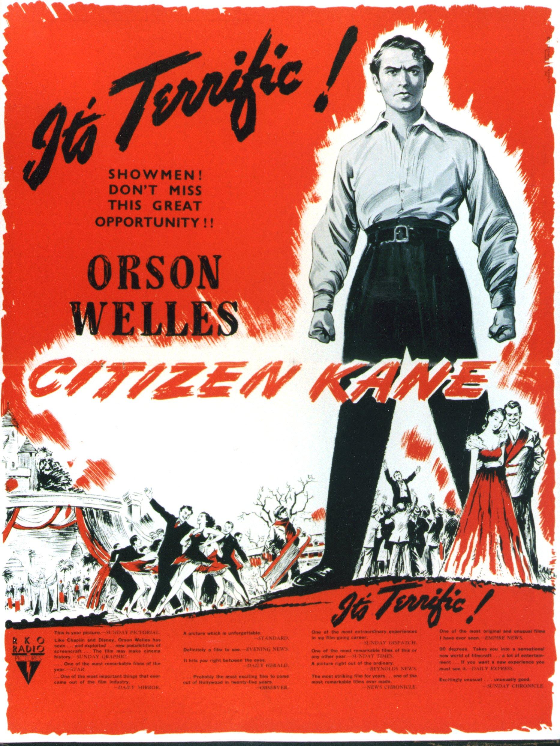 citizen kane гражданин кейн кино великая депрессия классика отвратительные мужики