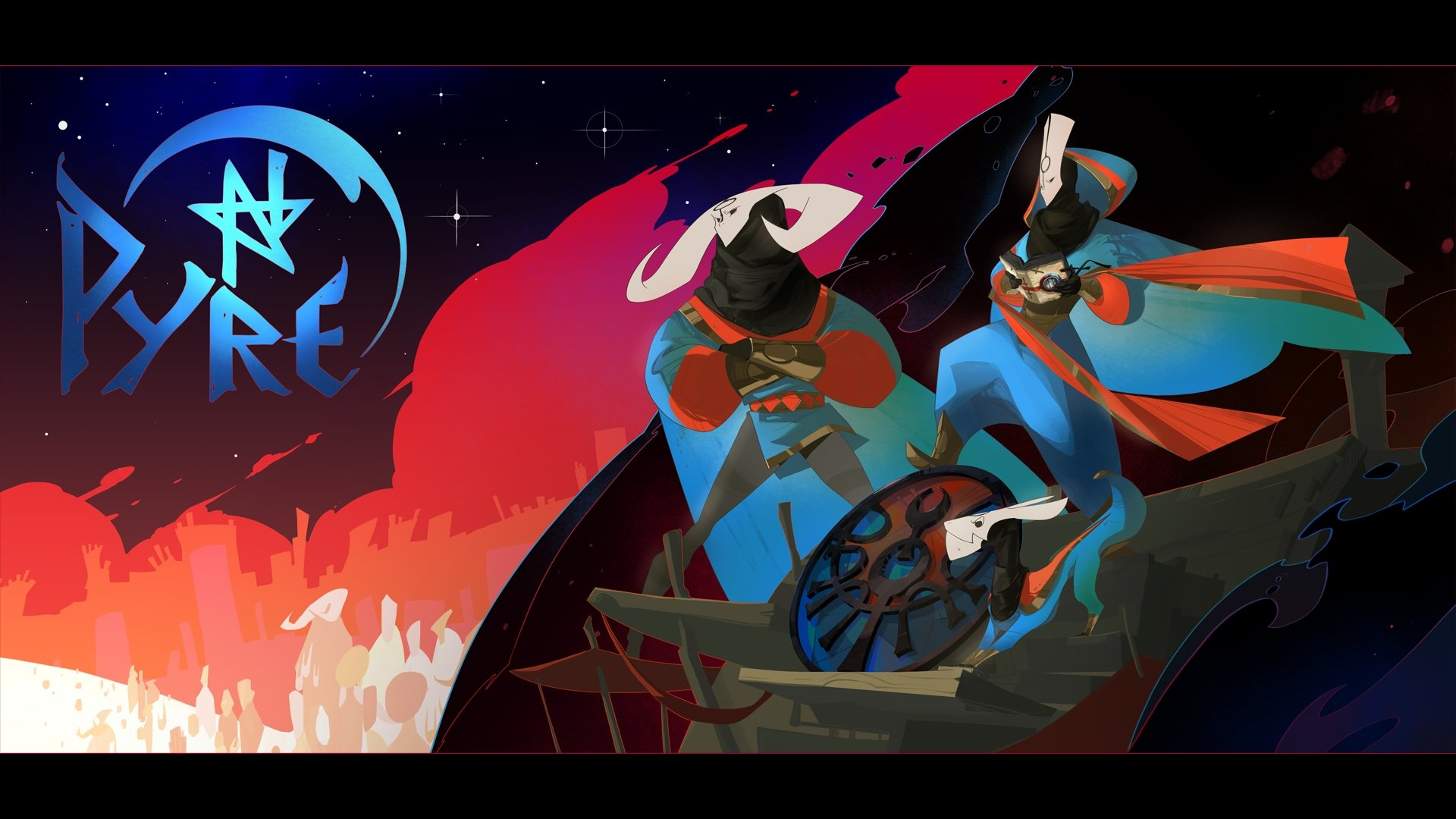 pyre game игра supergiant games pax east 2016 отвратительные мужики disgusting men