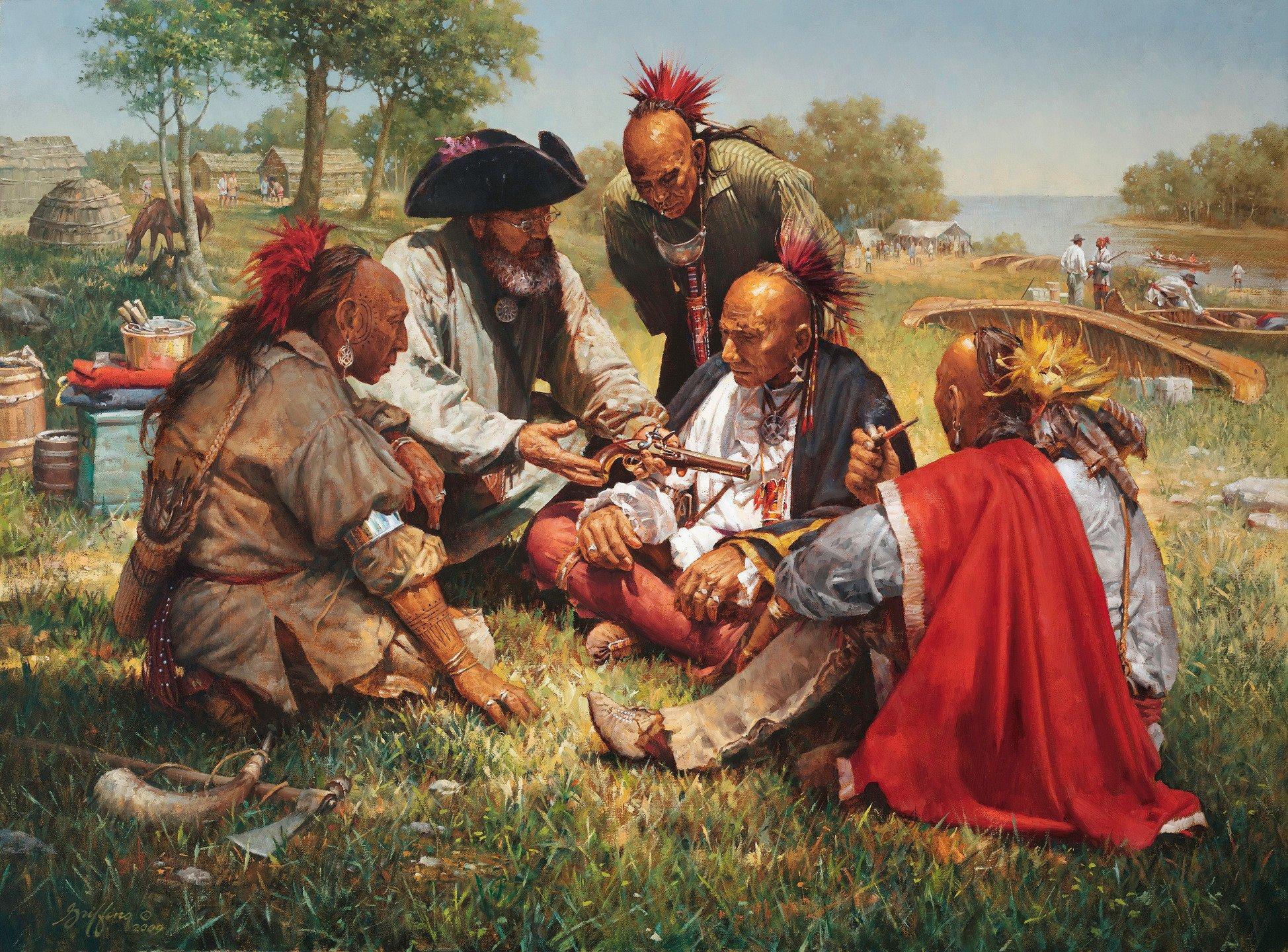 Порно индейцев апачи