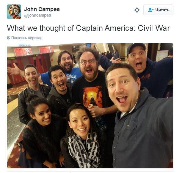 гражданская война первый мститель противостояние отзывы рецензии обзоры