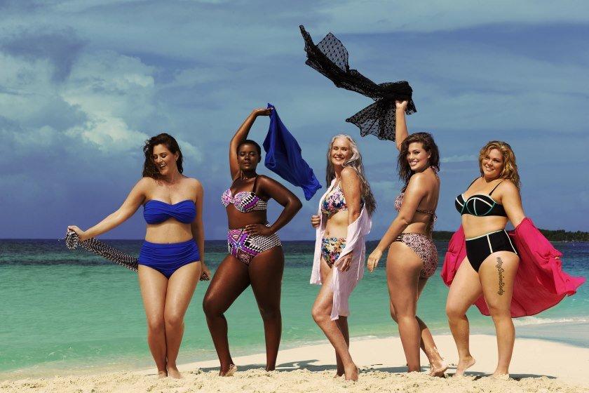 Флэшмоб #MySwimBody модели с крупными формами больших размеров организовали фотографии Инстаграм фото новости отвратительные мужики