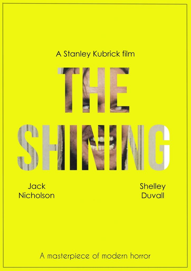 a report on the shining a psychological horror film by stanley kubrick