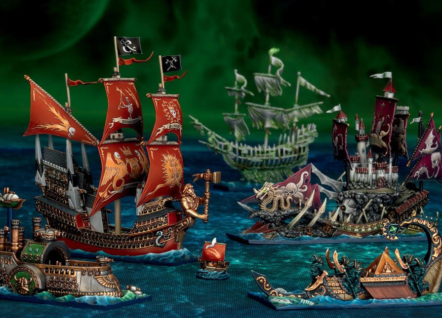 Dreadfleet-painted-game-in-play-1