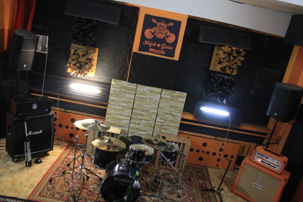 high gain studio репбаза в москве лучшая репетиционная база москва