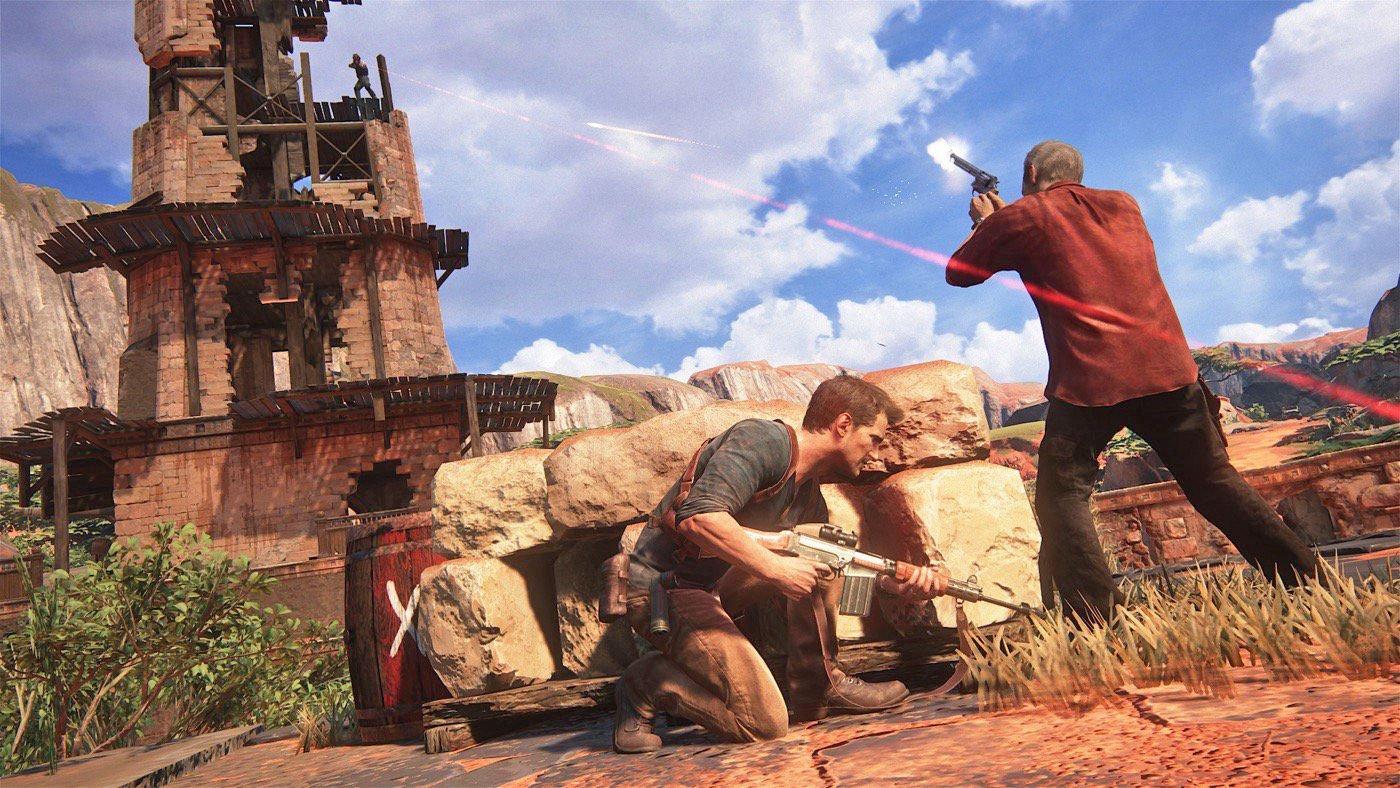 Uncharted 4: A Thief's End рецензии обзоры ign kotaku videogamer отвратительные мужики disgusting men