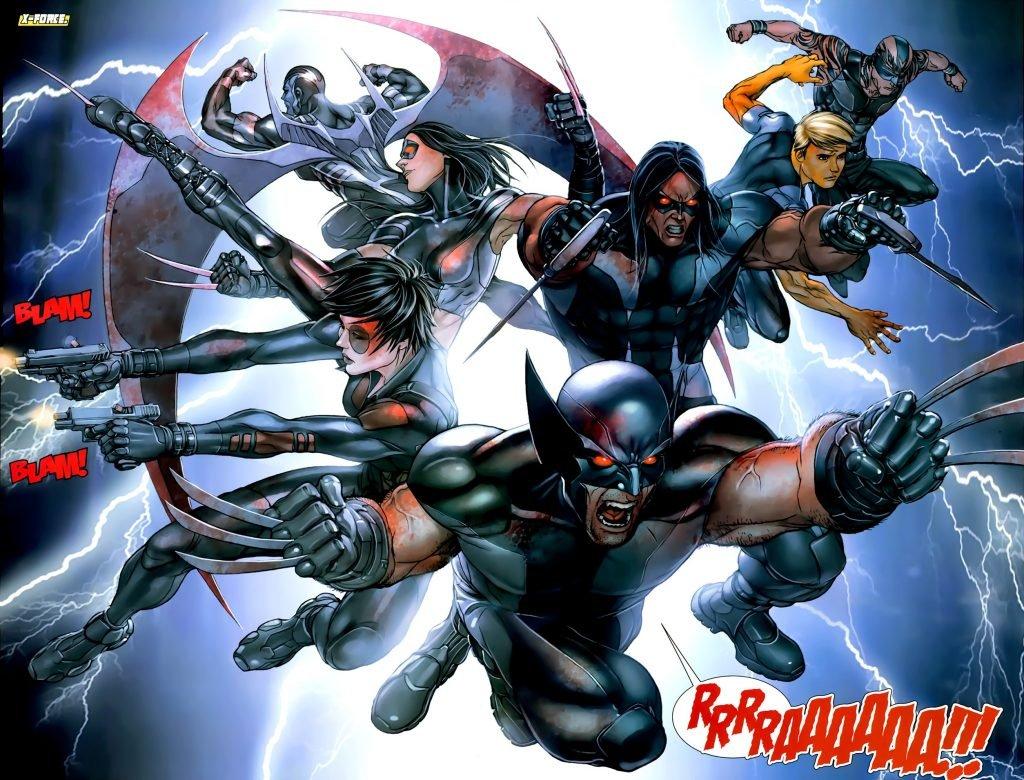 люди икс кино комиксы x-force disgusting men