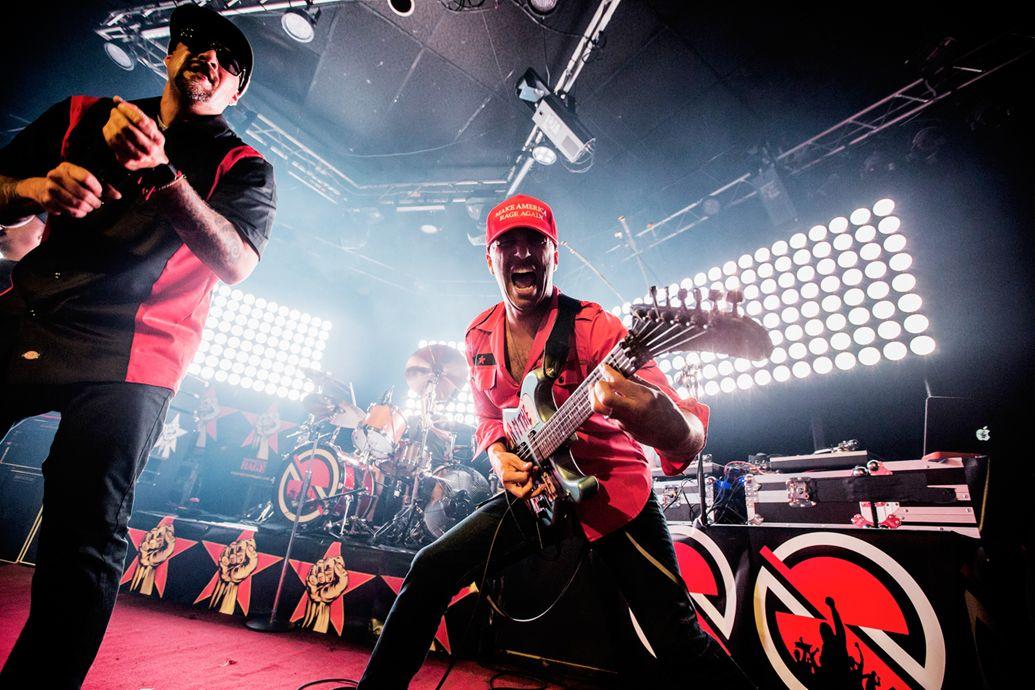 Prophets of Rage рэпкор супергруппа Rage Against the Machine Том Морелло, Брэд Уилк и Тим Коммерфорд Chuck-D DJ Lord Public Enemy B-Real Cypress Hill музыка гид отвратительные мужики