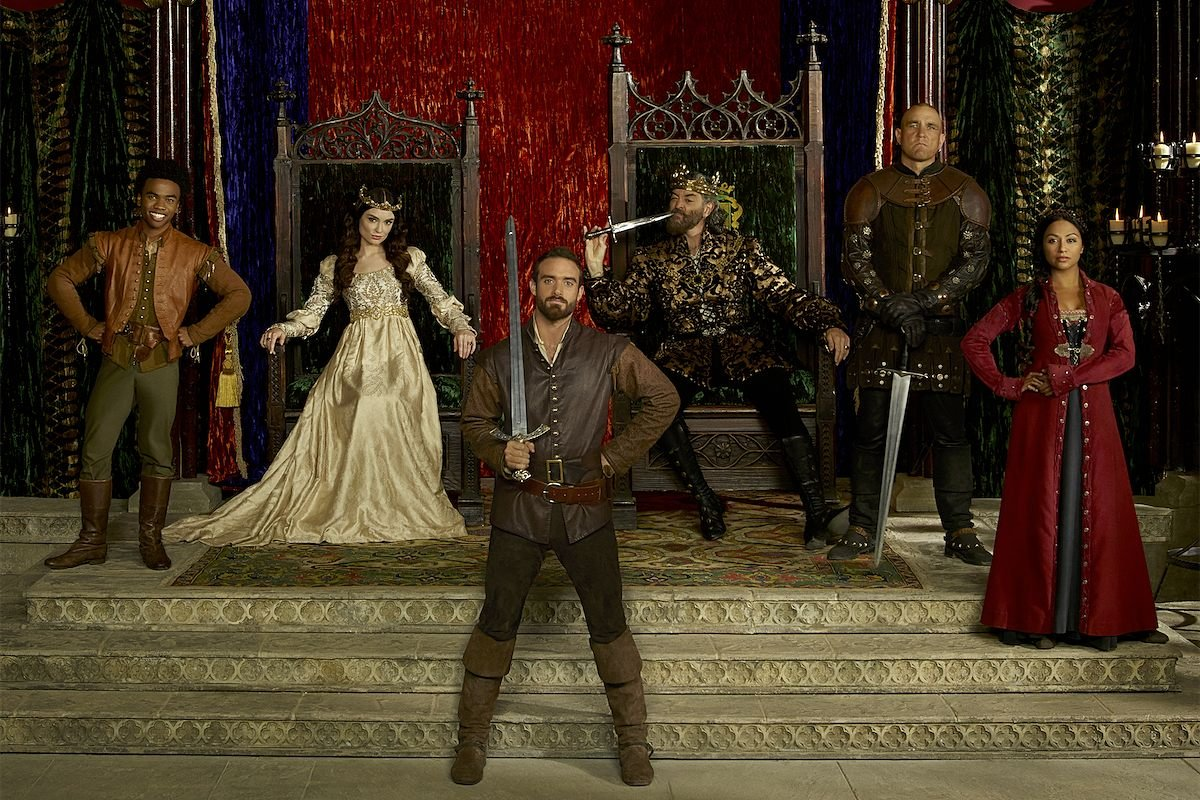 галавант сериал galavant tv show disgusting men