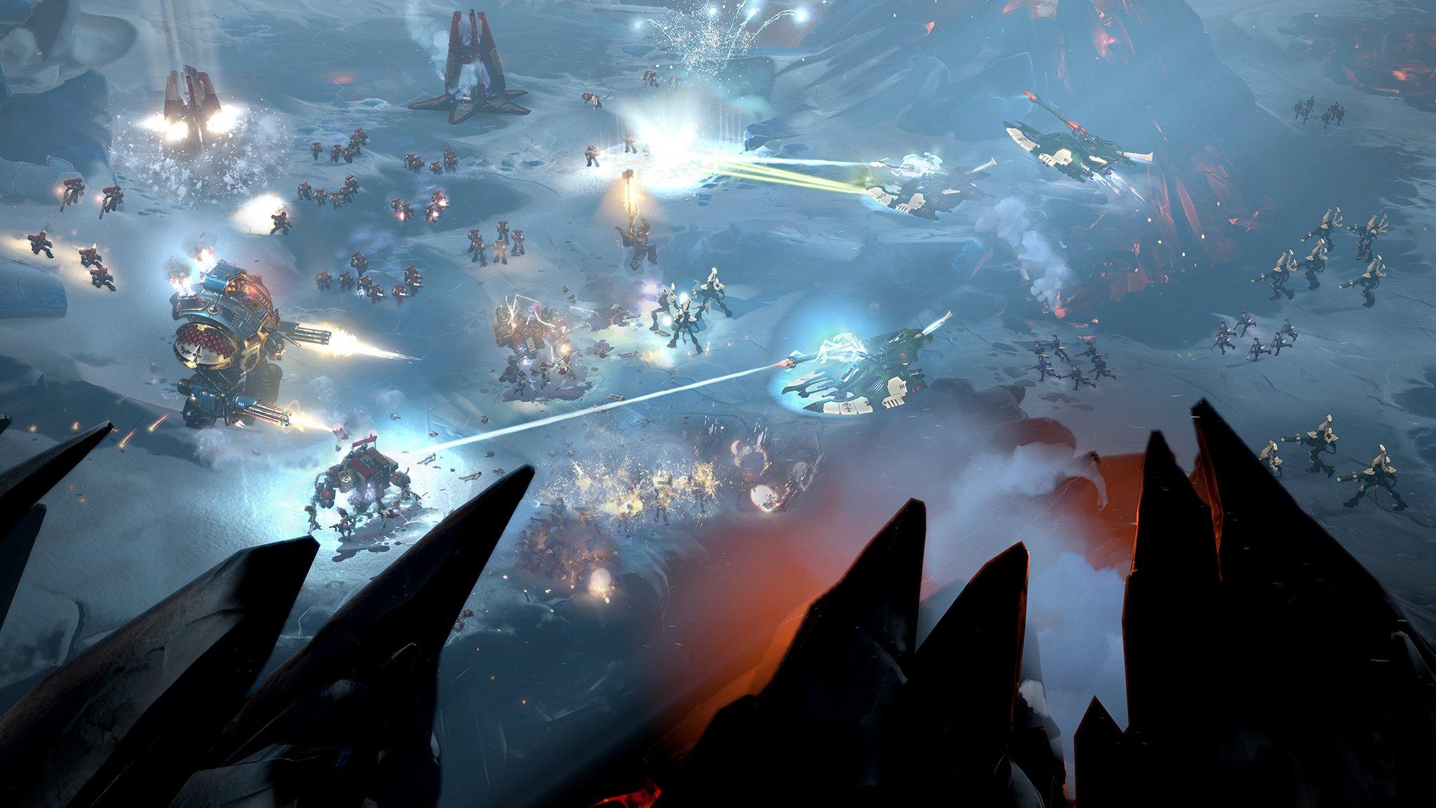 Dawn of War 3 Warhammer ответы на вопросы разработчиков интервью превью Relic Entertainment игры отвратительные мужики