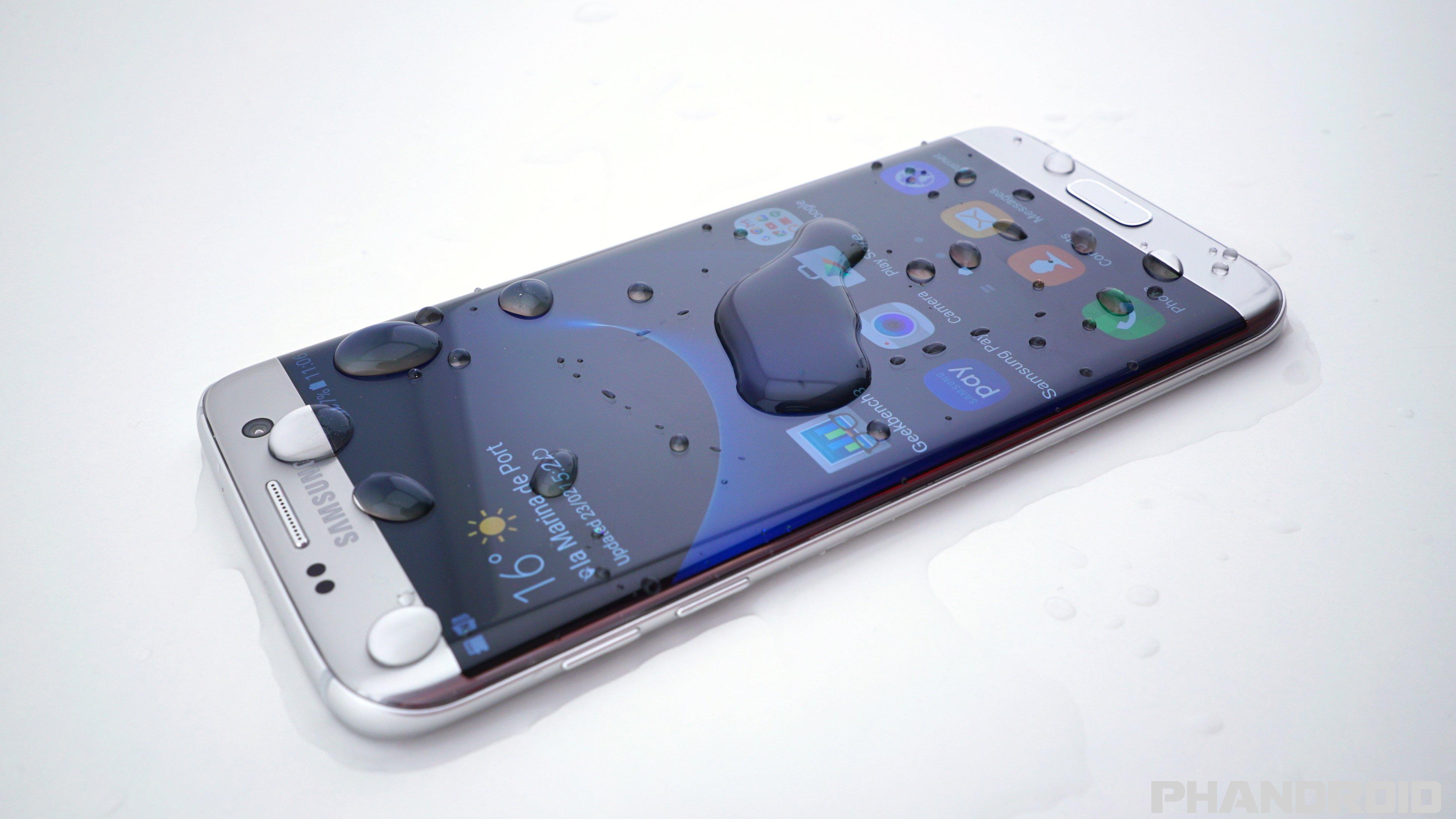 Обзор телефона SAMSUNG GALAXY S7