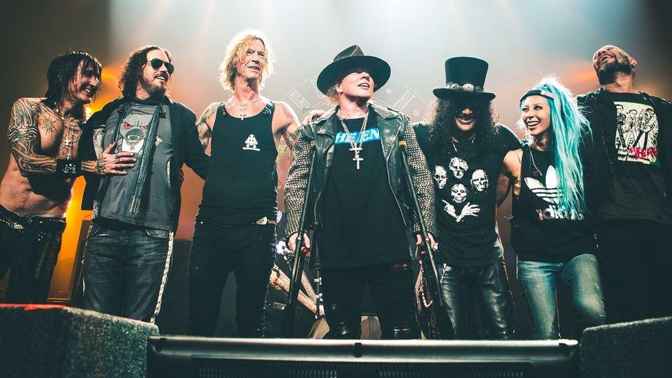 Guns N' Roses задержали гребаный ствол оружие на границе аксл роуз новости музыка отвратительные мужики