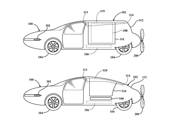 toyota аэрокар летающий автомобиль патент запатентовало технологии новости отвратительные мужики