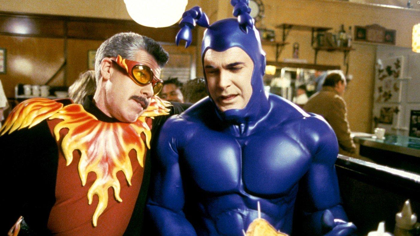 тик сериал пародия супергерои tick amazon отвратительные мужики disgusting men