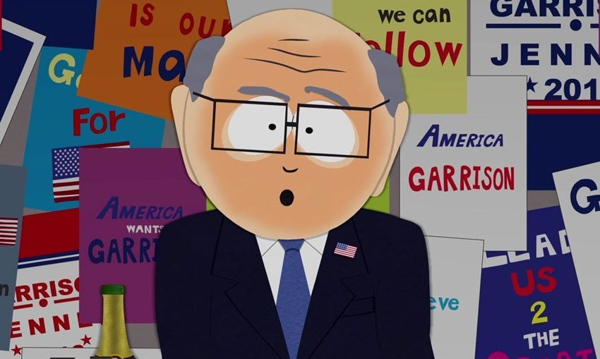 южный парк мультсериал мультфильм 20 сезон Мэтт Стоун Трей Паркер выборы сериалы кино отвратительные мужики