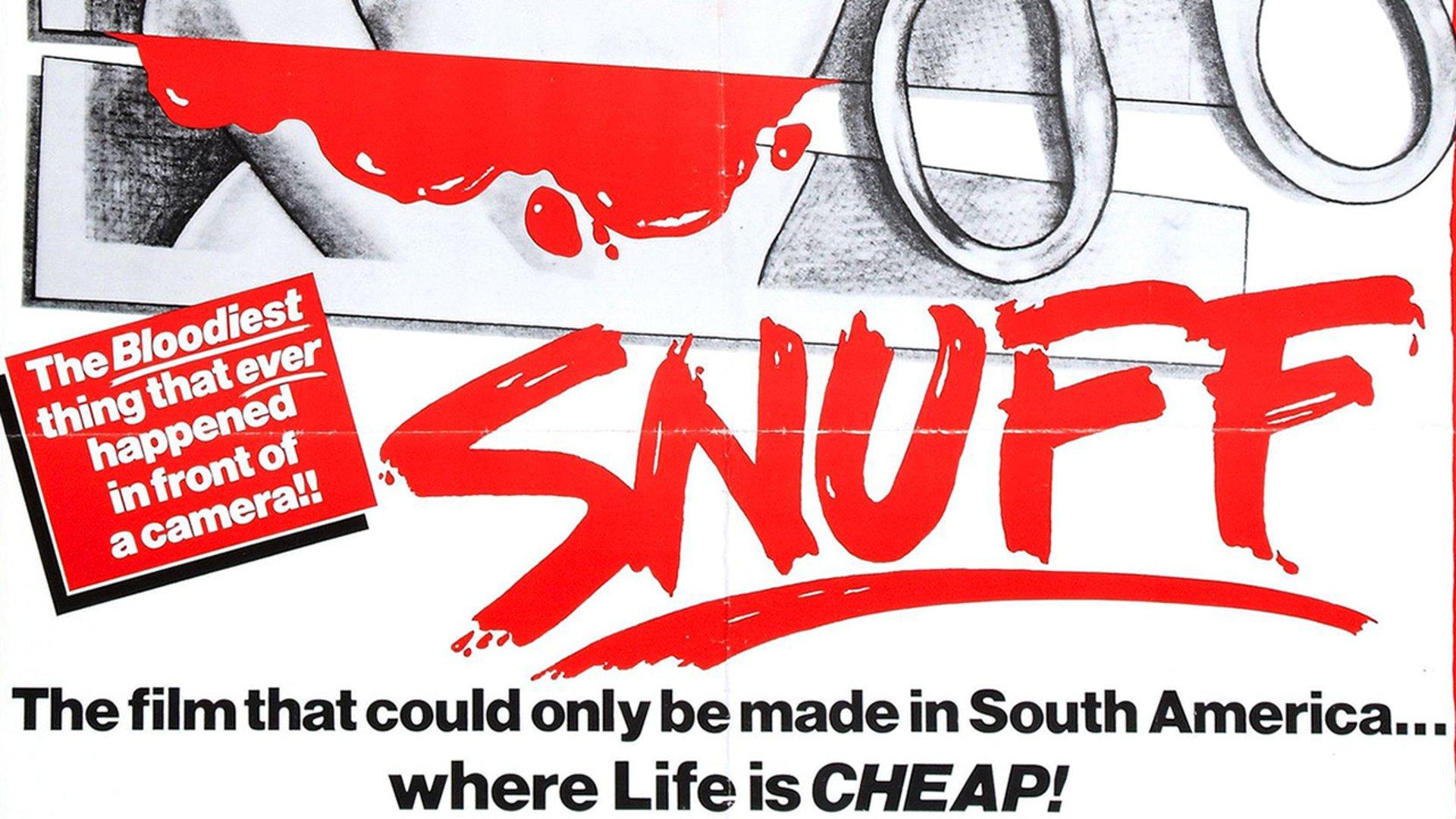 Snuff, 1975 mockumentary horror best лучшие фильмы ужасов mondo cane