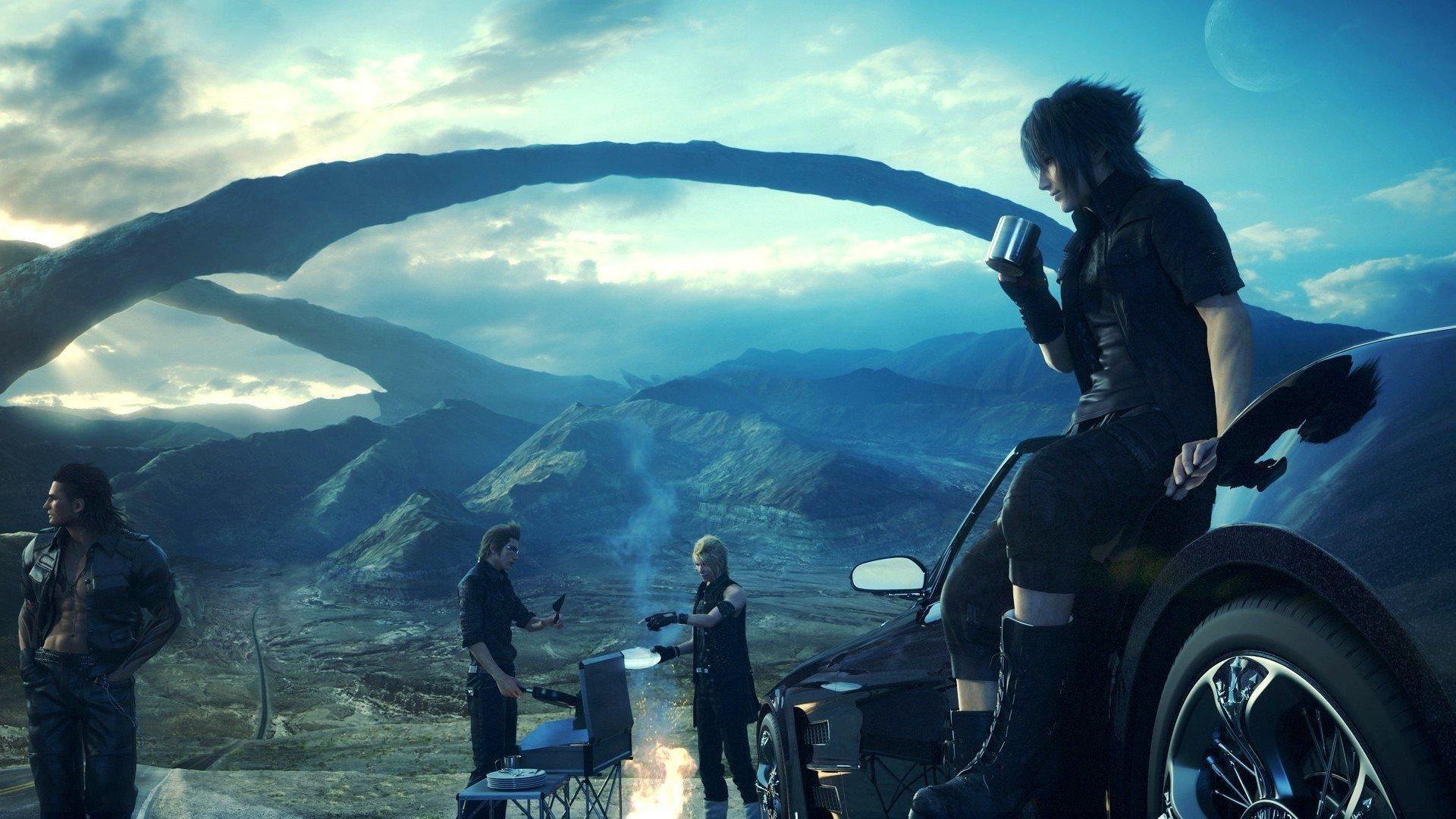 Final Fantasy XV Андрей загудаев 5 важный вещей вопросов превью игры отвратительные мужики