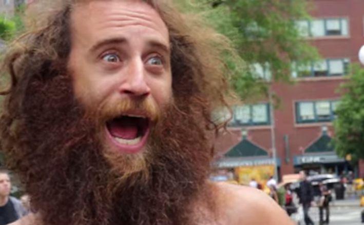 борода сексуальность женщины щетина отвратительные мужики disgusting men