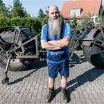 самый большой велосипед в мире largest bike frank dose отвратительные мужики disgusting men