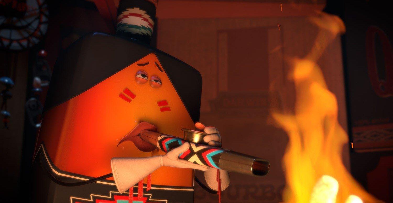 sausage party сосисочная вечеринка полный расколбас рейтинг 18+ только для взрослых комедия сет роген джеймс франко майкл сера комики мультяшный анимационный кино рецензии отвратительные мужики