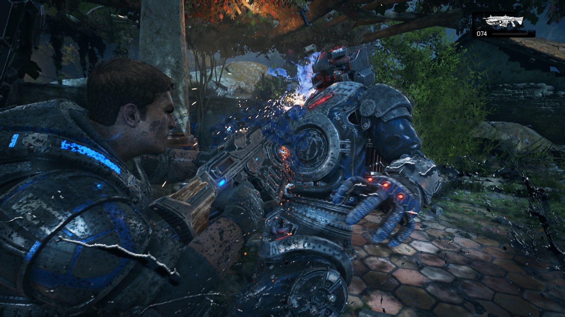 gears of war 4 conan o brien disgusting men review обзор рецензия gears of war