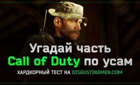 Сможете ли вы определить часть Call of Duty по усам капитана Прайса?