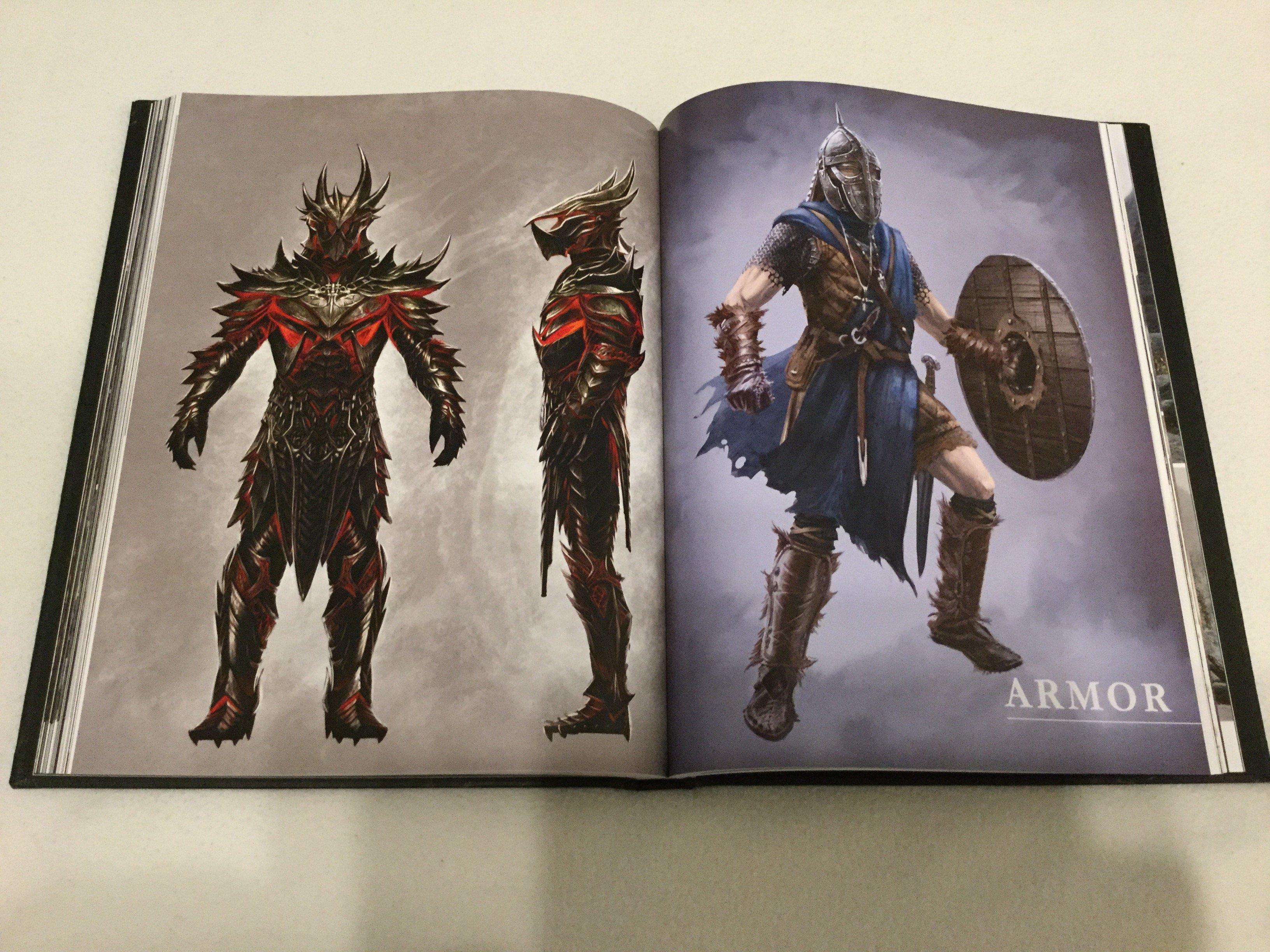 The Elder Scrolls V: Skyrim Special Edition artbook артбук ремастер отвратительные мужики disgusting men