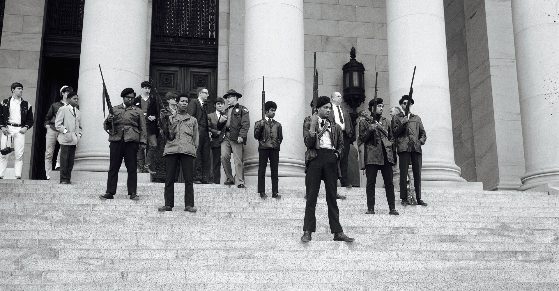 a report on the ten point stance of the black panther party