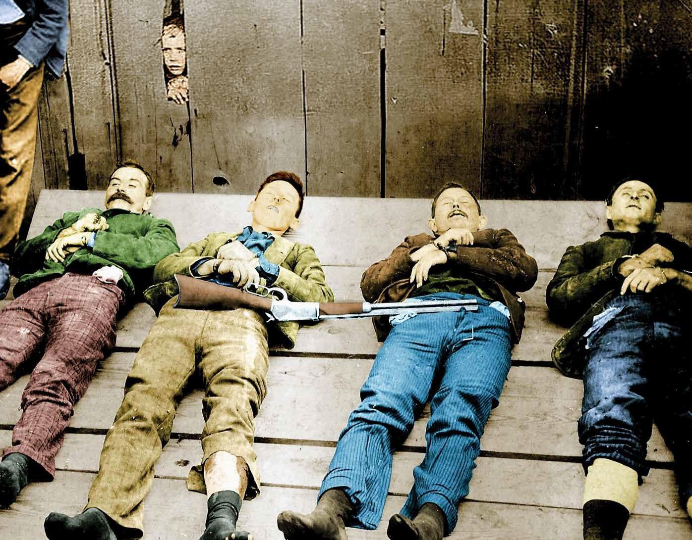 дикий запад колоризированные фото xix век фронтир отвратительные мужики disgusting men