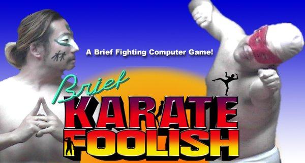 Brief Karate Foolish файтинг трэш пародия отвратительные мужики disgisting men