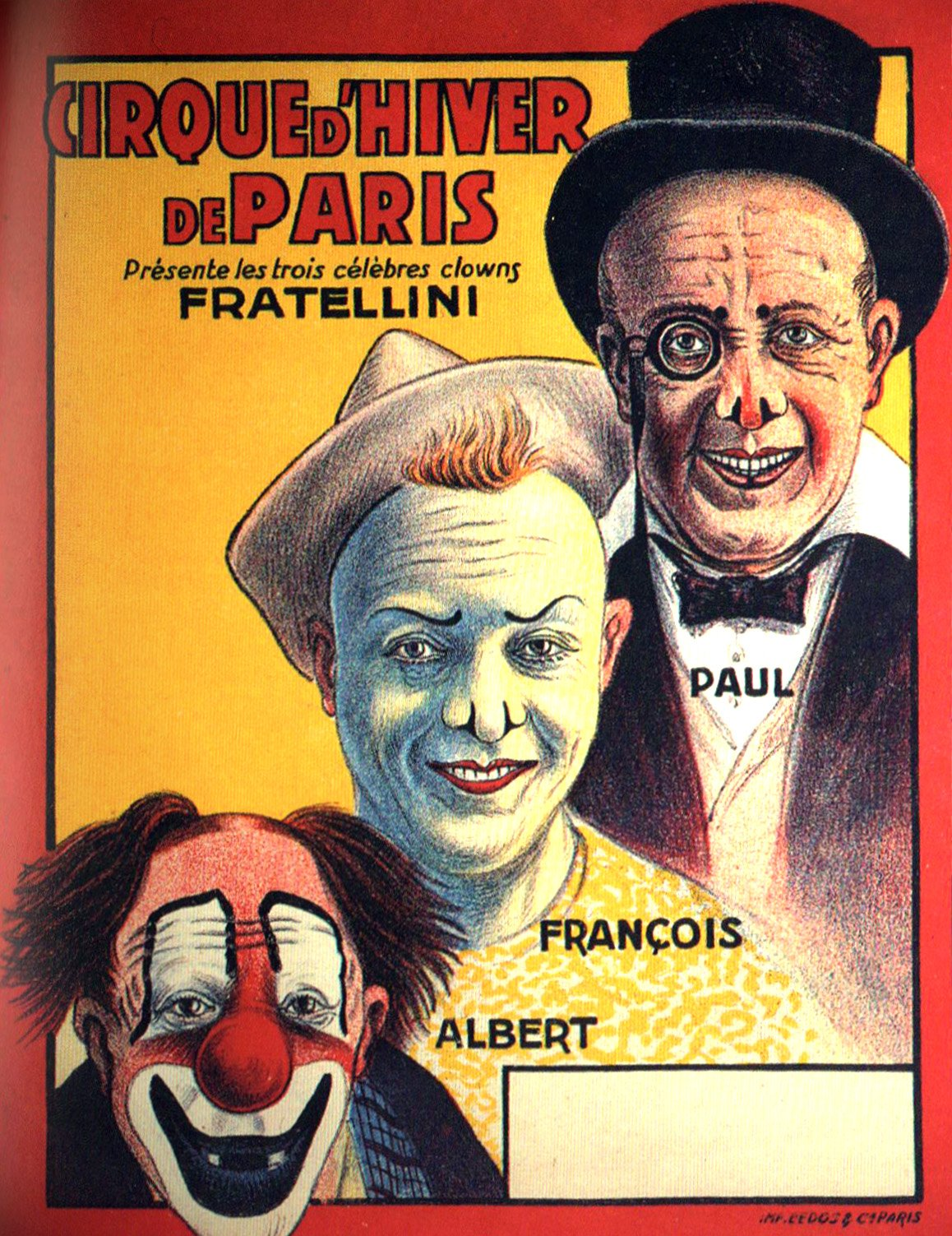 Fratellini poster