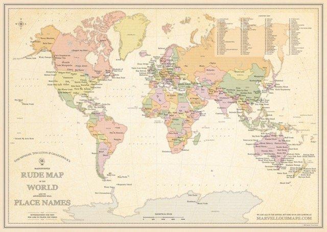 непристойные названия карта непристойных названий отвратительные мужики disgusting men