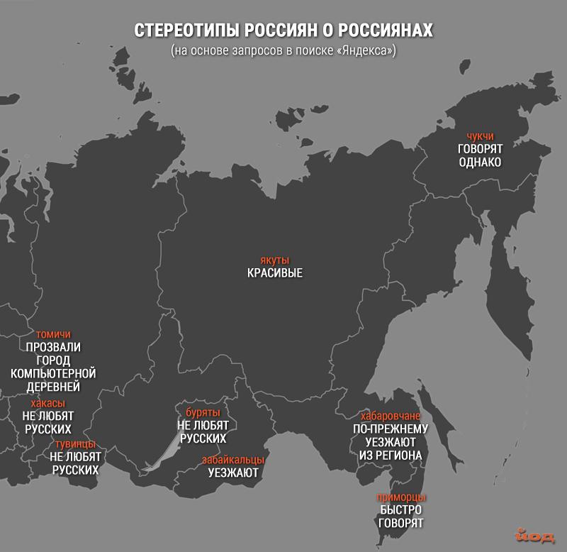 стереотипы о россиянах, в которые верят россияне предвзятость регионы россии отвратительные мужики disgusting men