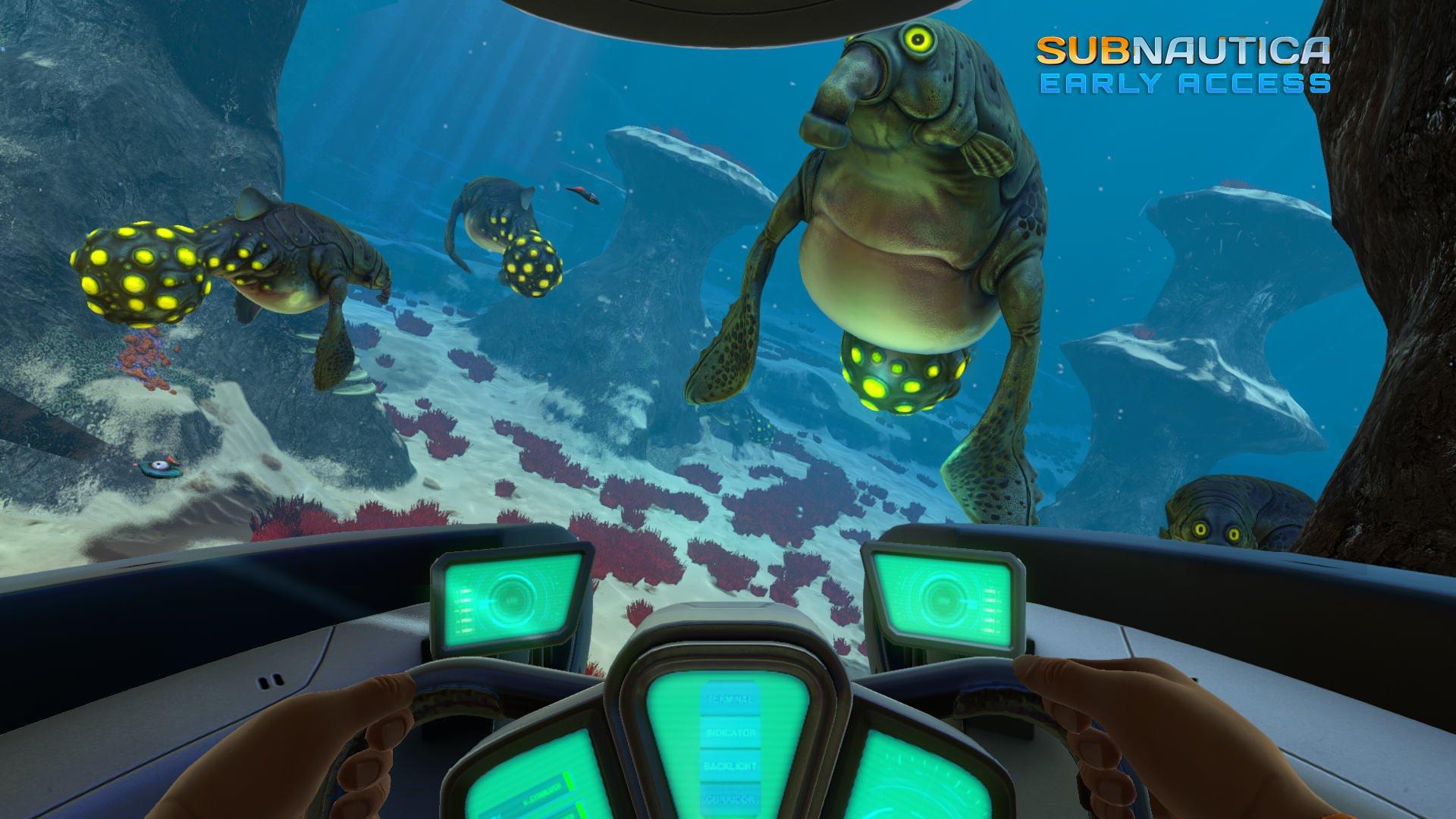 subnautica ocean симулятор выживания в океане отвратительные мужики disgusting men
