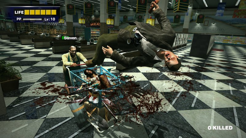 Dead Rising - Shopping Trolley