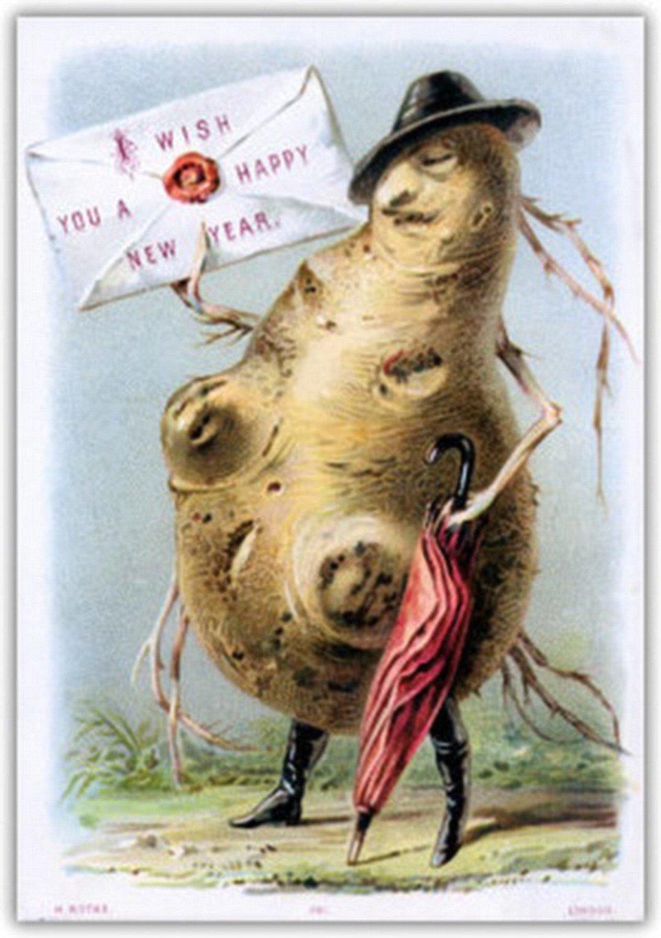 самые безумные новогодние открытки рождество новый год отвратительные мужики dusgusting men bizarre postcards