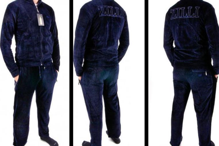 велюровый спортивный костюм zilli обзор