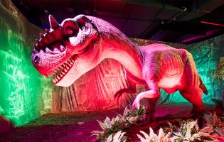 Случайные обзоры. «Кредо убийцы», стыдная выставка динозавров, крафтовый бар с потрясающим видом и нечто в бутылке за 600 рублей