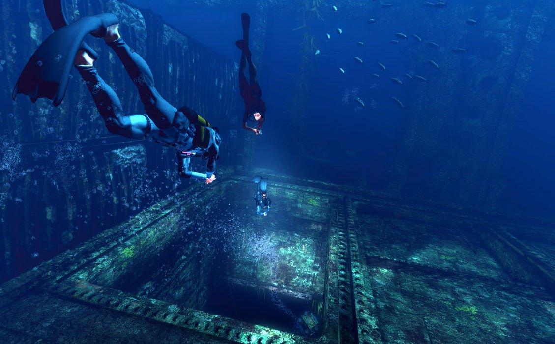 depth game review depth обзор игра про акулу шутер про акул и водолазов