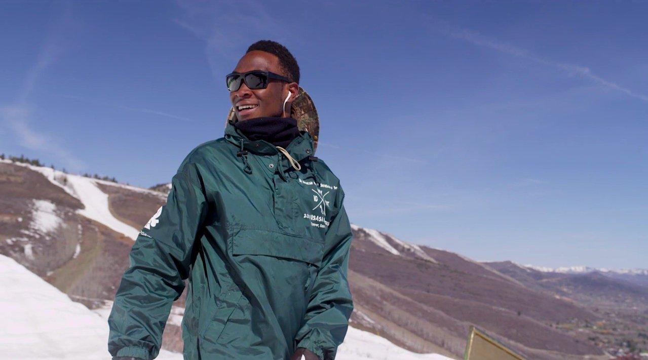 Бролин Маведже сноубордист олимпиада уганда сша олимпийские игры лыжная федерация спорт спокойно я сам отвратительные мужики