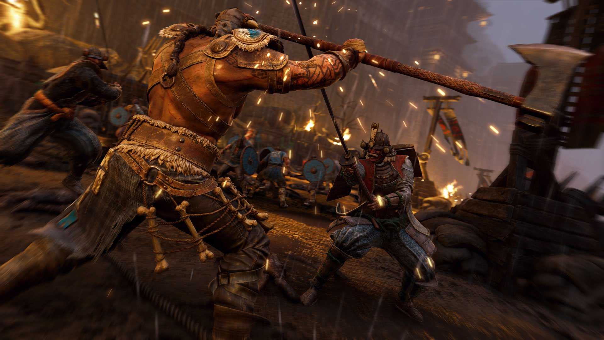 for honor preview open beta бета for honor ps4 ubisoft