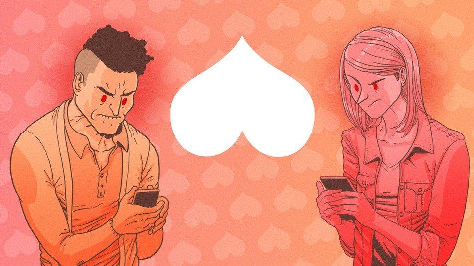 hater ios android dating service приложение ненависть отвратительные мужики disgusting men