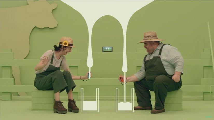 миниигры nintendo switch симулятор дойки коровы дичь джойстики игры для пьяной компании отвратительные мужики disgusting men