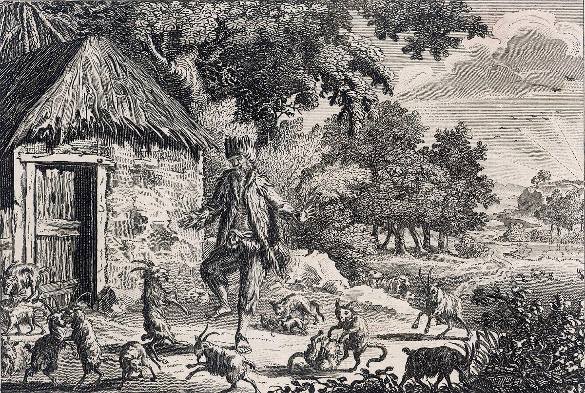Александр селькирк секс с козами