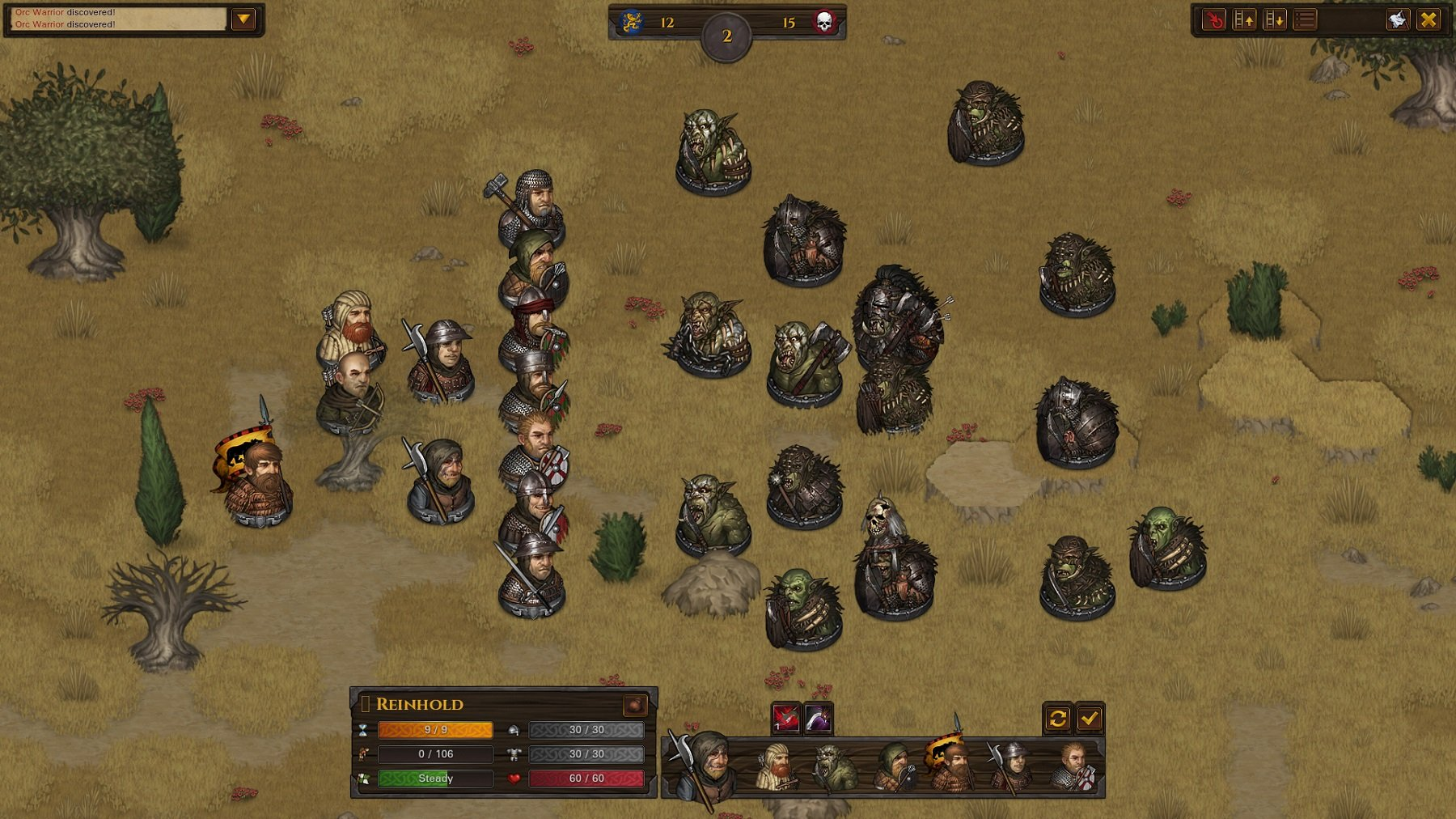 battle brothers рецензия игра тактика отвратительные мужики disgusting men